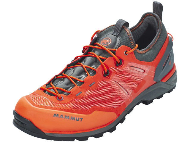 Mammut Alnasca Knit Low - Chaussures Homme - gris/orange
